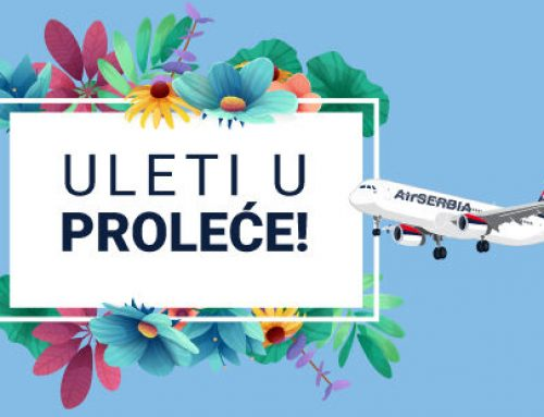 Velika prolećna promocija AIR SERBIA direktni letovi